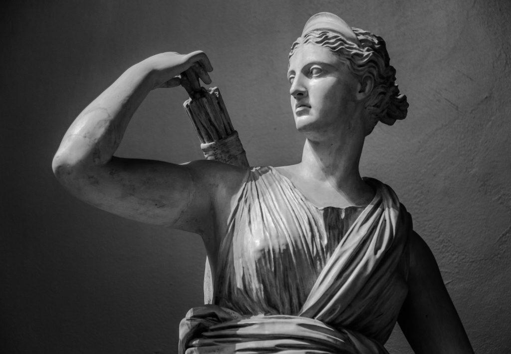 Artemis - griechische Jagd- und Mondgöttin
