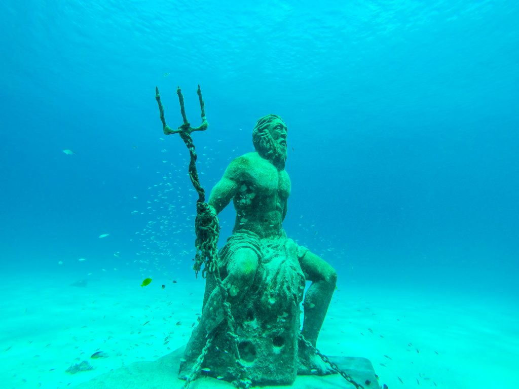 Gott Poseidon