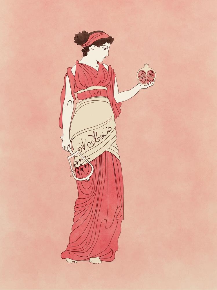 Persephone - altgriechische Fruchtbarkeitsgöttin und Göttin der Unterwelt